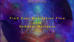 Find Your Meditation Flow Workshop