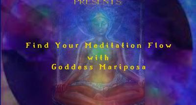 Find Your Meditation Flow Workshop