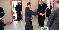 Sakuma and Hosoda Sensei