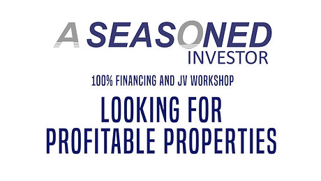 04. Looking For Profitable Properties