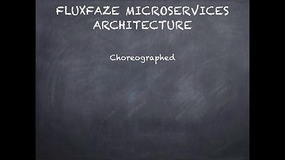 FLUXFAZE MicroServices Keynote Presentation Advert Concept