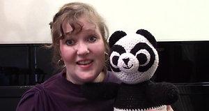 Meet Paisley the Panda