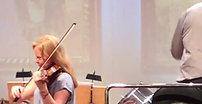 Rehearsal: Alexander Glasunow, violin concerto. Anna Markova Manfredo Schmiedt Theatro da UCS Caxias do Sul November 2017