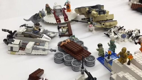 STAR WARS STOP MOTION CAMP
