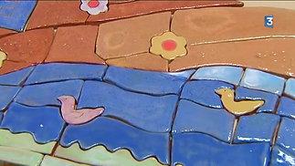 Fresque à l'école d'Avanne