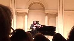 Carnegie Hall Recital 2