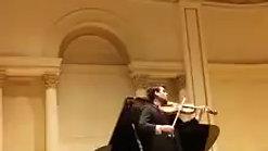 Carnegie Hall Recital