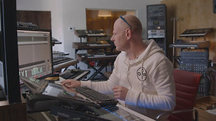 Mixing Drums for Film with Junkie XL
