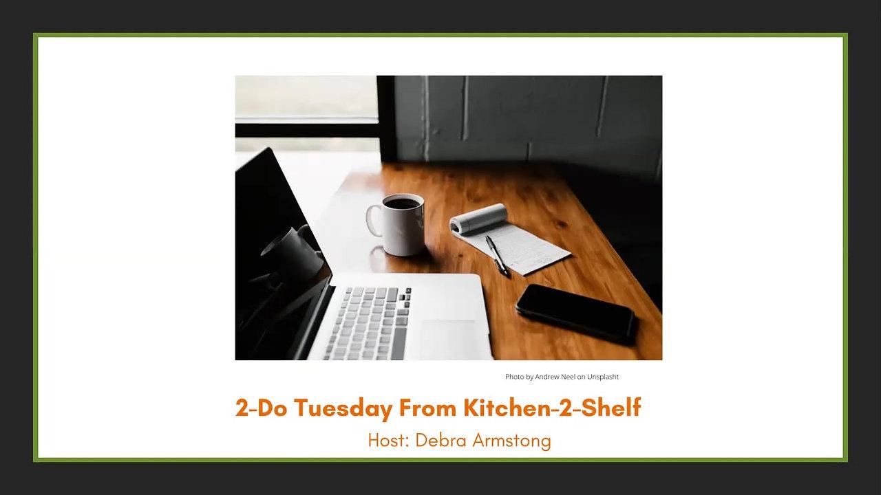2-Do Tuesdays