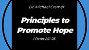 """06.28.20 """"Principles to Promote Hope"""" 9:00 AM Service"""