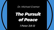 """7.5.20 """"The Pursuit of Peace"""" 1 Peter 3:8-12"""