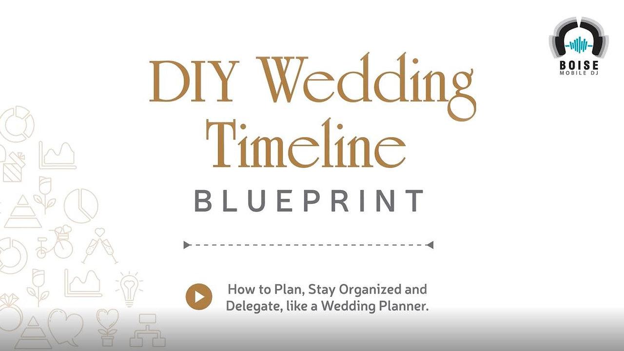 DIY Wedding Planning Blueprint