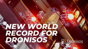 200 Drones Indoor : New World Record at San GiovanniX3