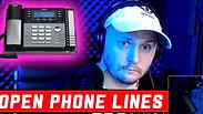 Joe Cronin ( Open Phone Lines )