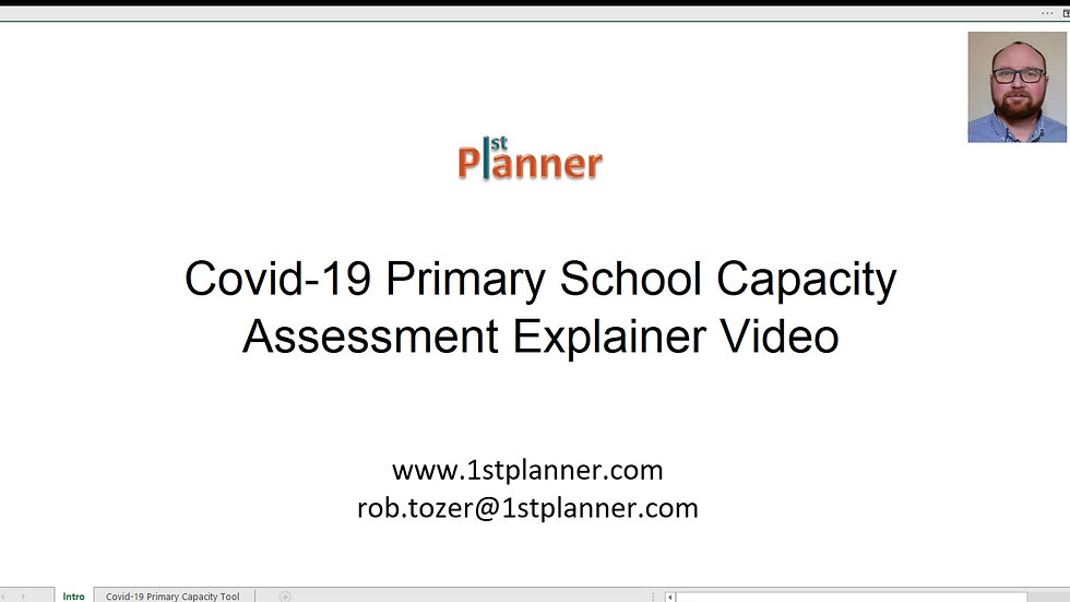 Covid-19 Primary School Capacity Assessment