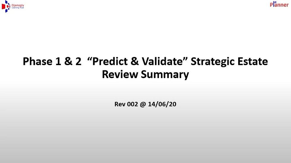 Djanogly 1st Planner Phase 1 & 2 Strategic Review Summary Presentation - Rev 002 @ 14 06 20