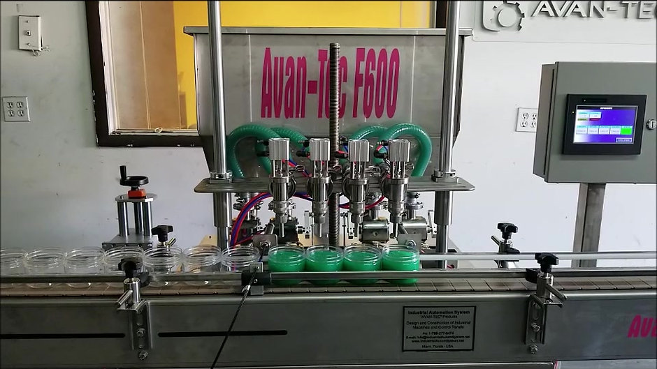 Automatic Piston Filling System - VIDEO