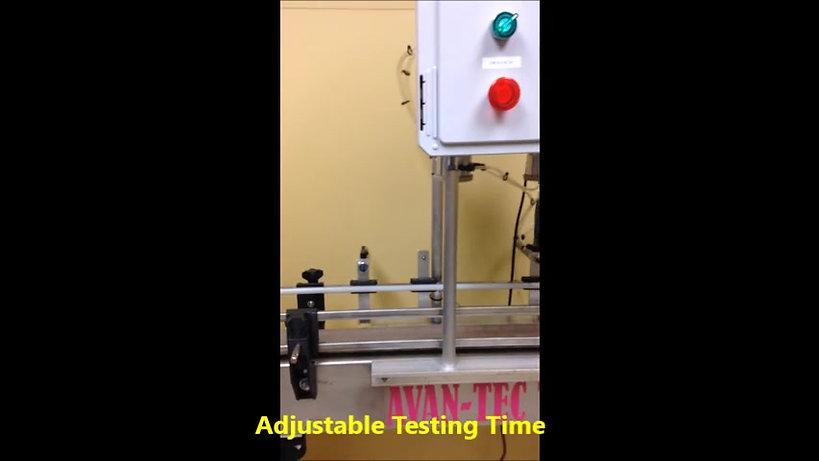 TL 200 Bottles Leak Testing.