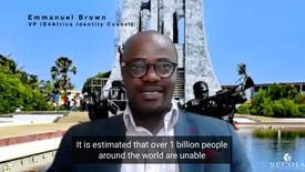 Emmanuel Brown, VP ID4Africa Identity Council