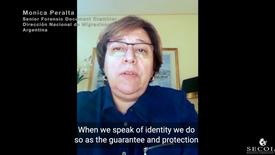 Monica Peralta, Senior Forensic Document Examiner at Dirección Nacional de Migraciones Argentina