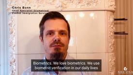 Chris Bonn, Chief Specialist (biometrics), Finnish Immigration Service