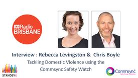 ABC Radio Interview - Rebecca Levingstone & Chris Boyle