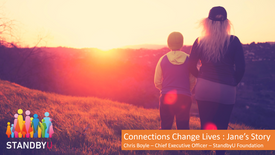 Connections Change Lives : Jane's Story