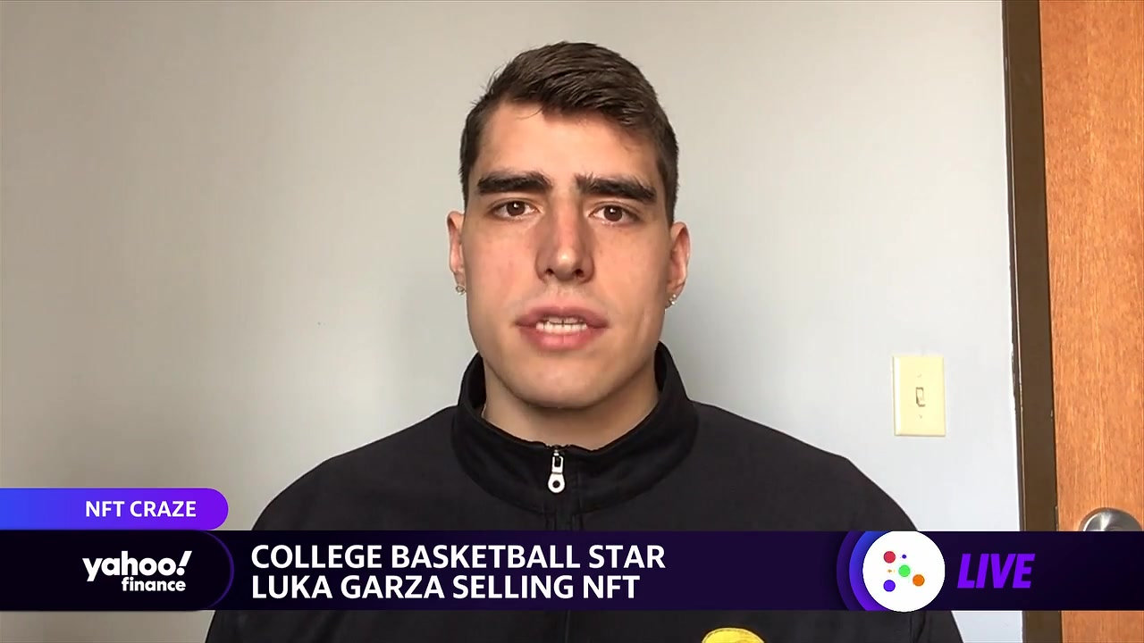 College basketball star Luka Garza on selling his own NFT