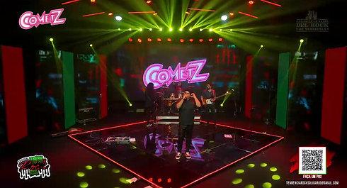 Banda Cometz     Festival Tendência Rock Brasil    Live de Lançamento