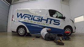 WRIGHTS CLEANING VEHICLE WRAP