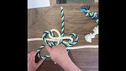 MYO Clover Knot Dog Toy