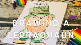 Drawing a Leprechaun: Ages 6+