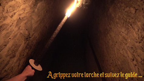 Visite nocturne Château-Fort Bouillon (VIDEO)