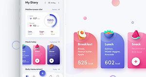 02 - healthy app design prototyping
