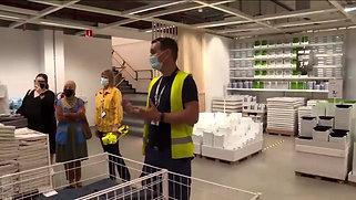 IKEA zet vluchtelingen aan het werk