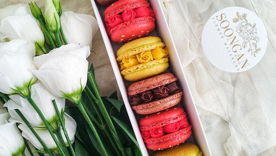Flower Macarons