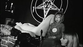 Anton LaVey Performs Satanic Baptism For His Daughter (KPIX 1967)