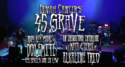 """666 """"A Tribute To Evil"""" Featuring Stanton LaVey, Alkaline Trio, Dolemite aka Rudy Ray Moore & 45 Grave"""