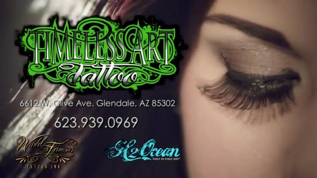 Timeless Art Tattoo Commercial