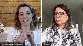 Paola Costa, faz sucesso na Holanda com bolos saudáveis
