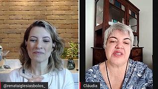 Cláudia Rubini, fatura até R$ 6mil por mês com bolos saudáveis