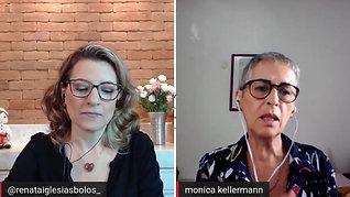 Monica Kellermann, a assistente social que faz sucesso com bolos saudáveis