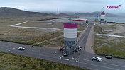 Movimiento de silos y terminal logística Carral
