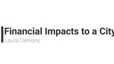 Financial Impacts to a City