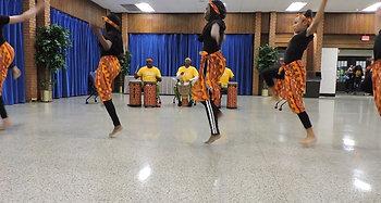 African Drumming at Graduation 2019