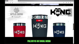 Kong website promo