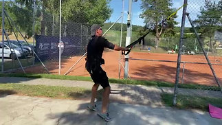 Fitness für Tennis mit EMS Anzug AQ2