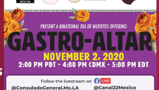 Noviembre 2: Gastro-Altar