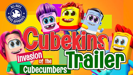 Cubekins Ep1 Trailer, Invasion of the Cubecumbers