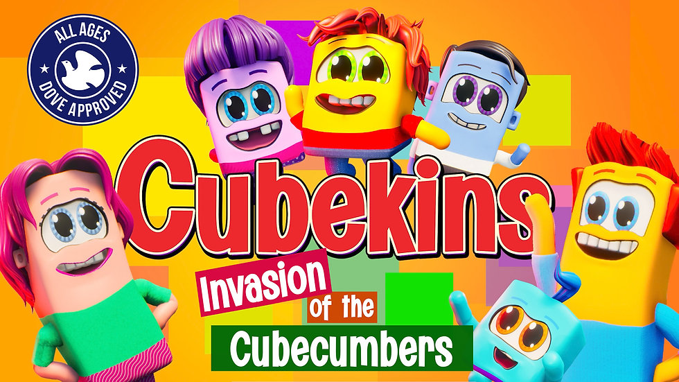 Cubekins Ep1 - Invasion of the Cubecumbers